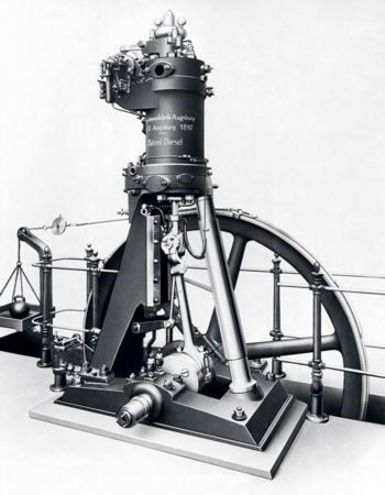 diesel third test engine